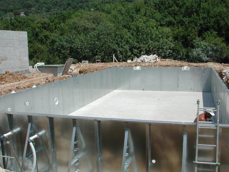 Costruzione piscine prefabbricate a Formia - Vendita installazione Piscine a Roma e Latina