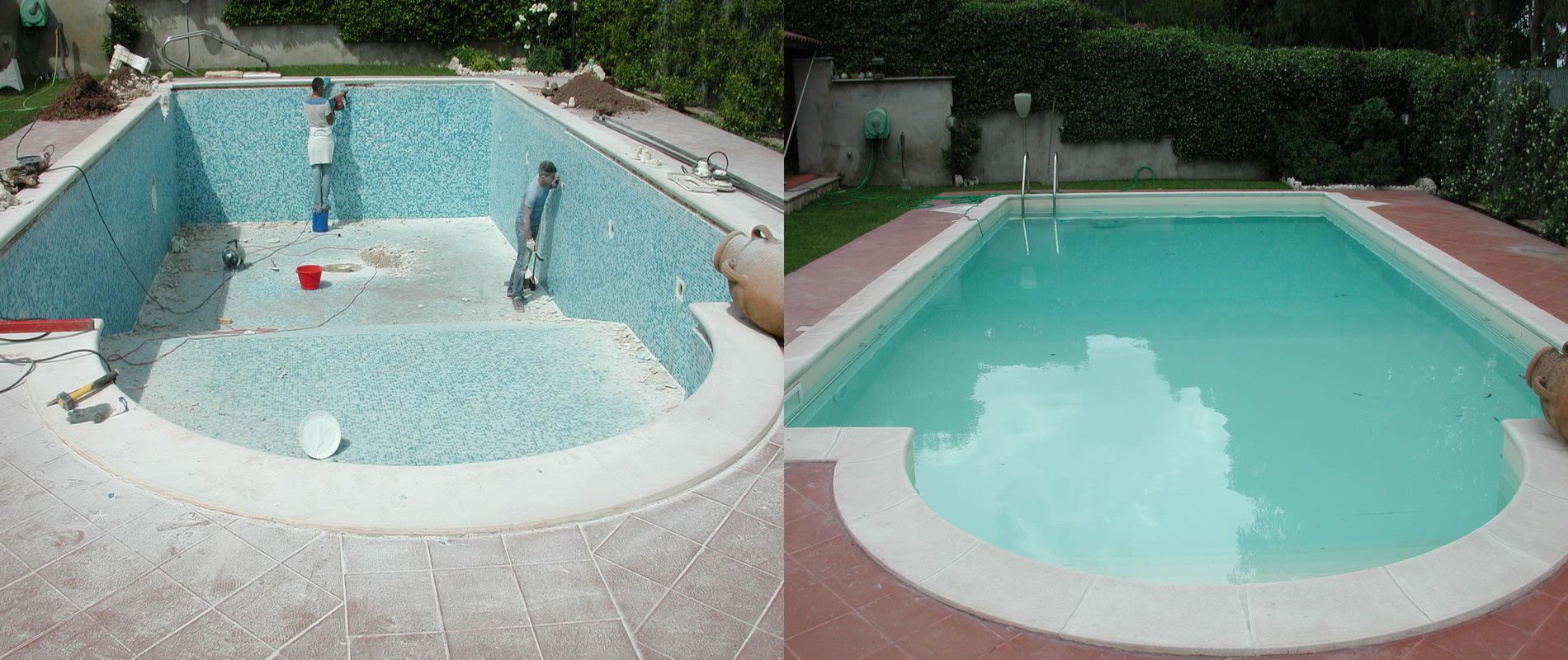 Ristrutturazione e restauro piscine