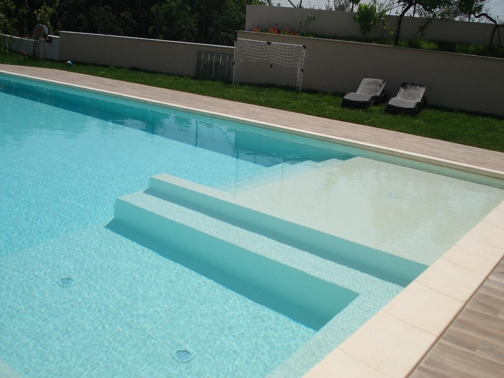 piscina in pannello