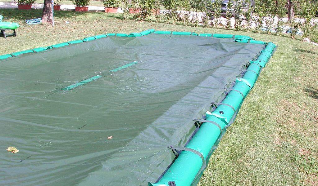 manutenzione telo di copertura piscina Latina