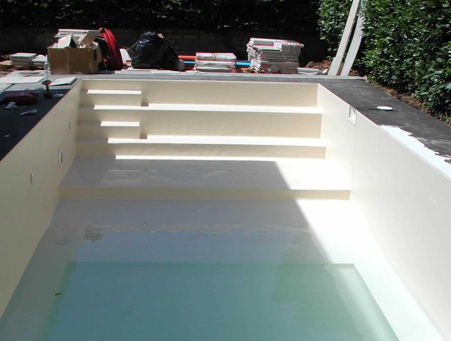 piscina in pannello installazione