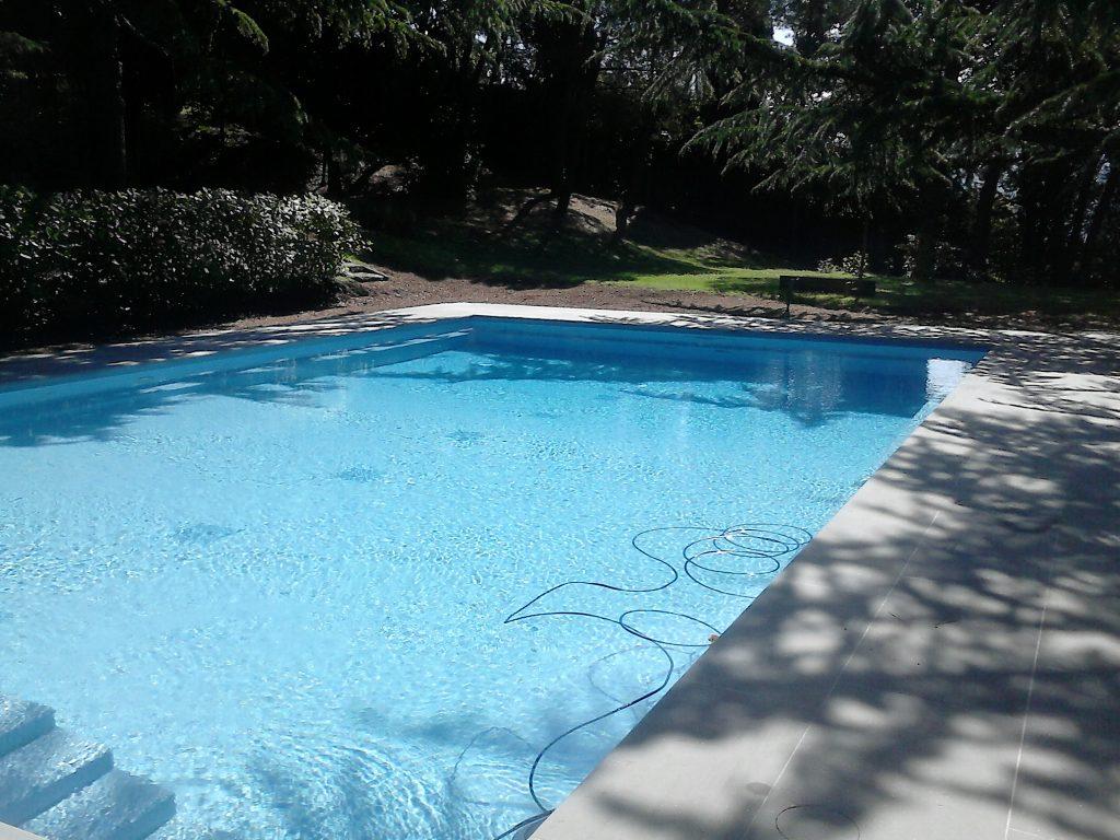 Ristrutturazione piscina privata a firenze for Piscina firenze