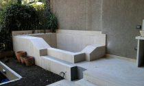 piscina relax in giardino Roma Latina