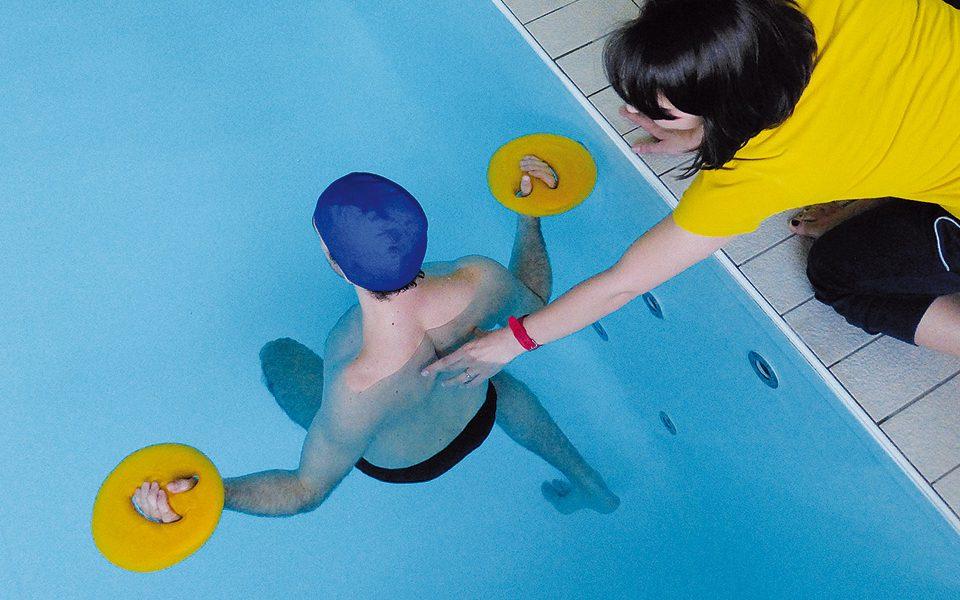idrokinesiterapia piscina riabilitativa
