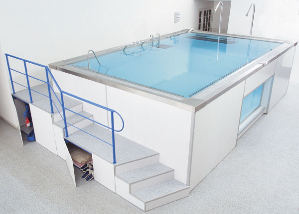 piscina riabilitativa fuoriterra