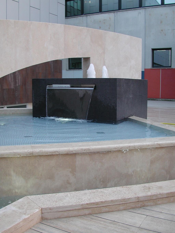 laghi artificiali fontane giochi d'acqua cascate Roma Latina