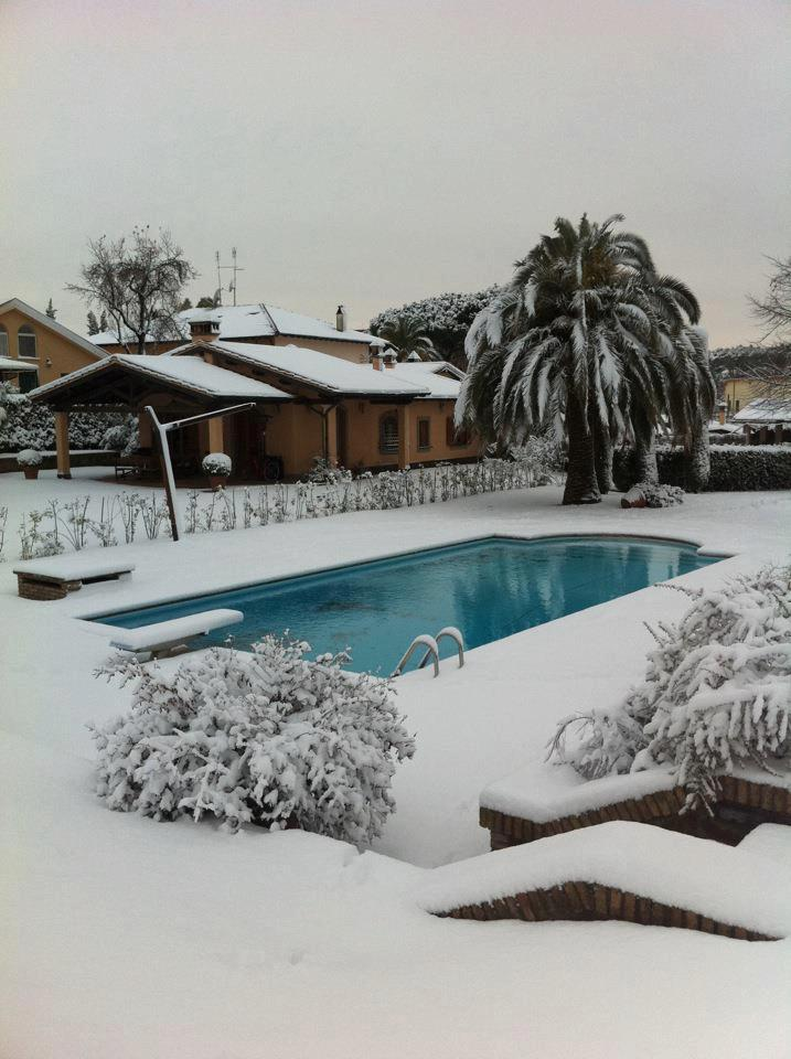 Non svuotare la piscina in inverno for Piscina wellness roma