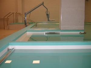 piscina per idrokinesiterapia