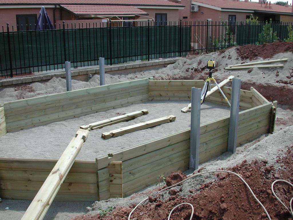 Piscine fuori terra in legno - Vendita installazione Piscine a Roma e Latina