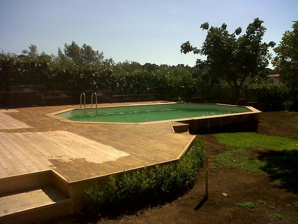 piscina fuoriterra Roma