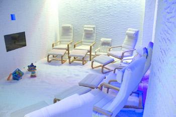 haloterapia stanza del sale Roma Latina