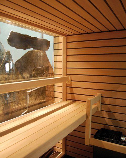vendita sauna finlandese Roma Latina